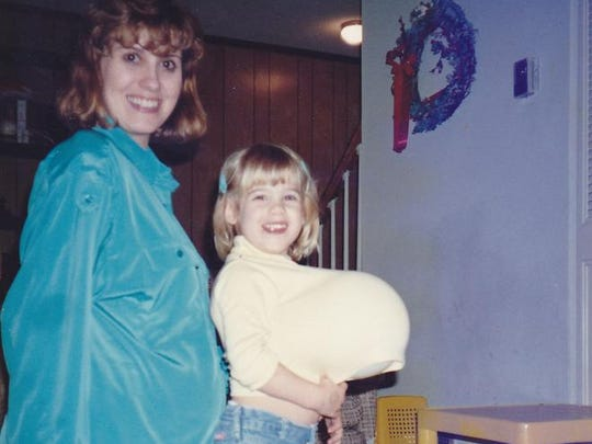 Caitlin Jacob and her mother, Kim Garrett
