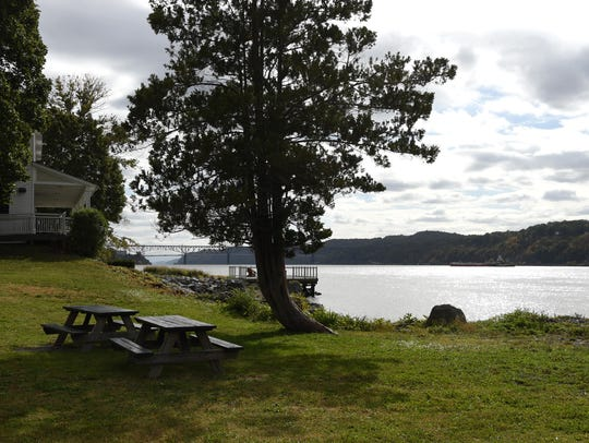 A view of Quiet Cove Park in the Town of Poughkeepsie.