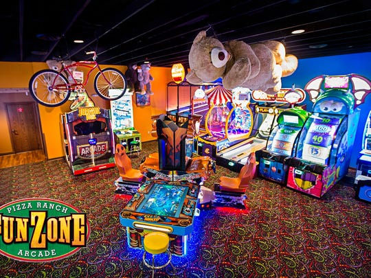 An image of a Pizza Ranch arcade like the one that