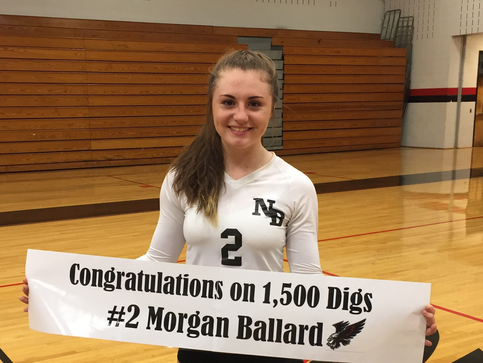 North Buncombe senior Morgan Ballard is the winner of the NCHSAA Performance of the Week award.