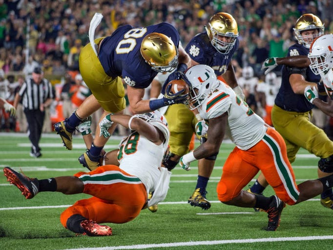 notre dame game today score ncaa football schedule week 3