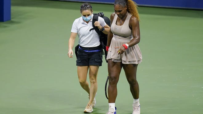 Serena Williams lost her semifinal match at the U.S. Open to Ukraine's Victoria Azarenka earlier this month. Should she win the French Open, it will be her 24th major title, tying Margaret Court's record.