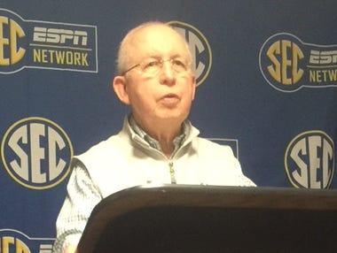 Mike Slive is retiring as SEC commissioner effective June 1.