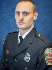 Asheville Fire Department engineer Will Willis.