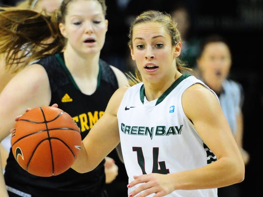 GPG UWGB_Vermont Womens Basketball
