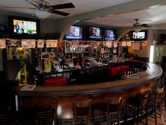 Interior of Zagursky's Bar & Grill, an over 70-year-old