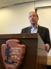 Sen. Tom Udall spoke on the importance of funding for