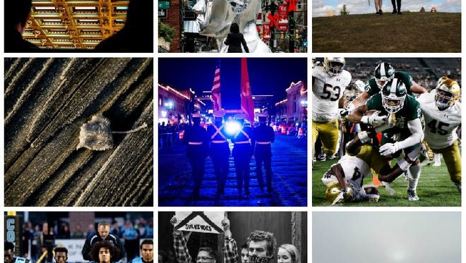 Here are some of our best images from Lansing State Journal photographers in 2017