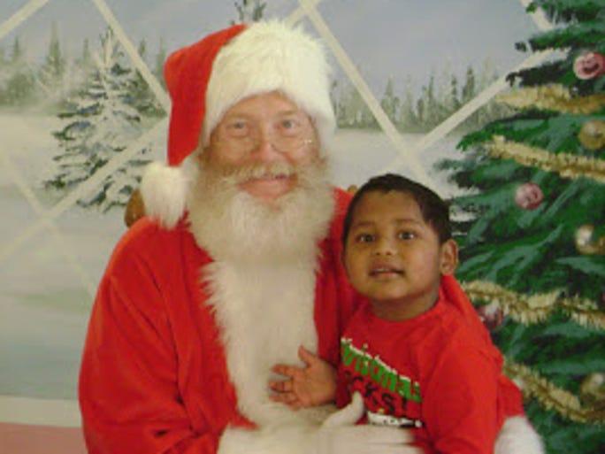 Santa and Diwas