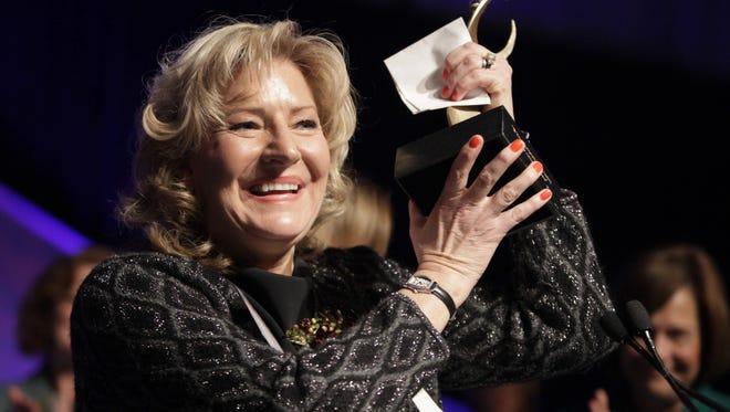 Kitty Van Bortel earned a national award to put along side her 2011 Athena Award.