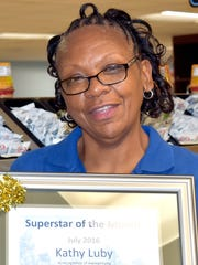 Kathy Luby named Carroll Hospital's July Superstar