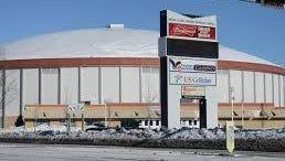 The Brown County Veterans Memorial Arena.