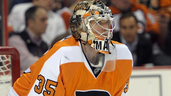 Steve Mason hasn't dressed for a game since last Saturday.