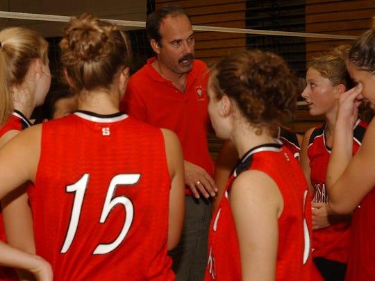 Before he became volleyball coach in 2002, Zoromski was Wausau East girls basketball coach for three seasons.