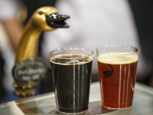 Chicago has seen an explosion in craft brewing, following the national trend. Travelers and locals have a plethora of breweries, tap rooms and pubs to explore. Shown here: the Goose Island beer tap.