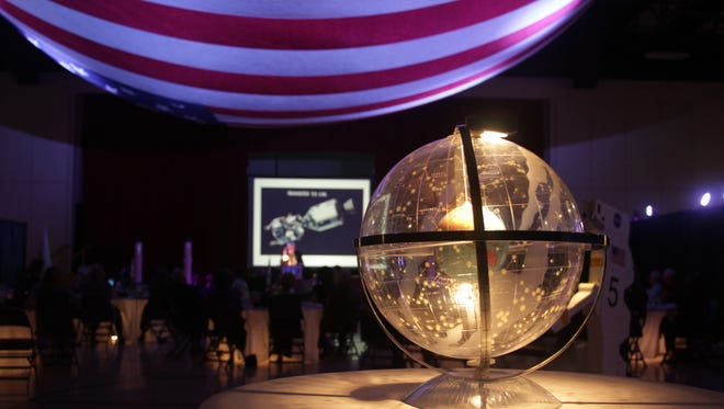 The induction ceremony for the NMMSH International Space Hall of Fame was held Oct. 3 in Alamogordo.