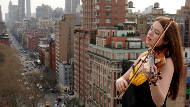 Canadan-born violnist Lara St. John stars in two of the concerts at the Stay in May festival.