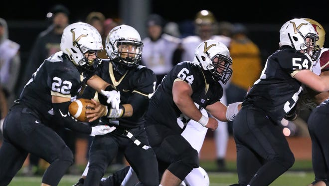 Hillsborough at South Brunswick football in Central Group V quarterfinals on Friday, Nov. 10, 2017.