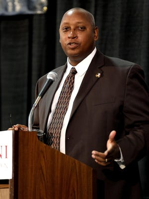 Democrat file photoFSU athletic director Stan Wilcox told board of trustee members that the Seminoles will have their 2016 spring game in Orlando. Democrat file photoFlorida State University athletic director Stan Wilcox says he does not believe the matter regarding Jameis Winstonâ??s latest revelation in his Publix incident will be a drawn-out process by the NCAA. Wilcox Stan Wilcox is known for his calm demeanor. Glenn Beil/Democrat FSU Athletic Director Stan Wilcox speaks to Seminole fans who packed the civic center on Friday afternoon for the Florida State Football Kickoff Luncheon.