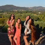 Coppa and her friends also visited Ibiza, the party capital of Spain.
