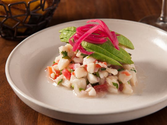 The Ceviche Blanco at Toca Madera, opened at Scottsdale
