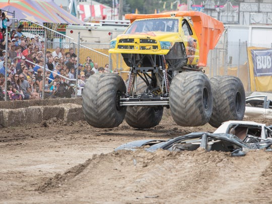 A new addition to the Ozaukee County Fair last year, Monster Trucks were a huge hit and will return this year.