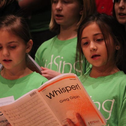 This Weekend: KidSing to bring hundreds of kids to SCSU