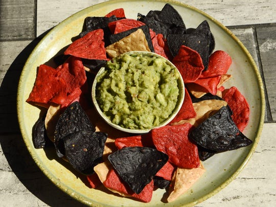 A view of the house guacamole at Baja 328 Tequila Bar Southwest Grill in Beacon.