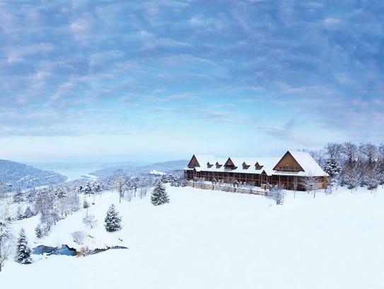 Big Cedar Lodge snow