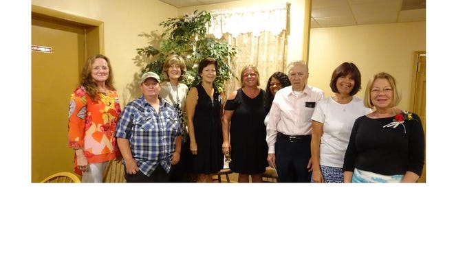 Susan Evans, Jenn Sutton, Lynda Ricards, Kathy Geiger, Betsey Simpson, Debbie L. Lee, Stanley J. Stopa, Claudia Rempfer and Linda Finch are the 2018 Rutgers Master Gardeners of Cumberland County interns.