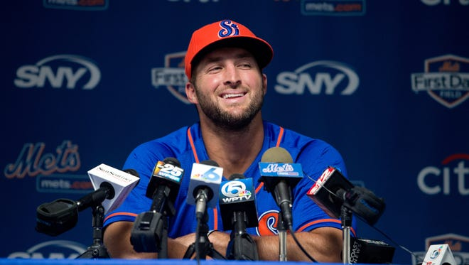 Tim Tebow will speak at a fundraiser at Florida Tech's Clemente Center on Oct. 8.