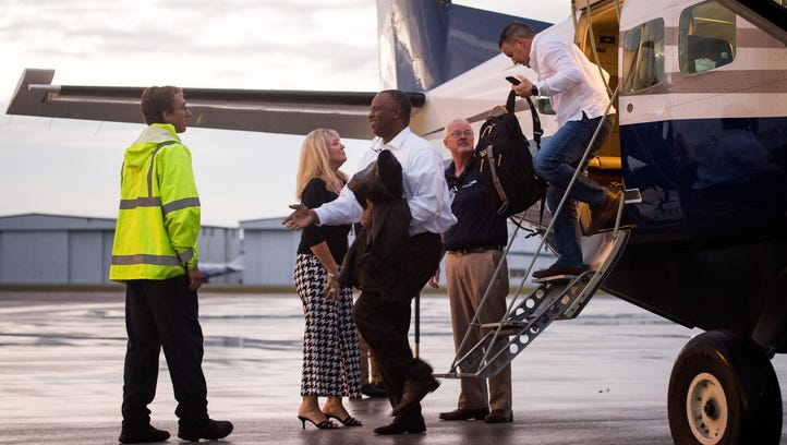 Fly the Whale completes first flight from Tallahassee to Treasure Coast International Airport
