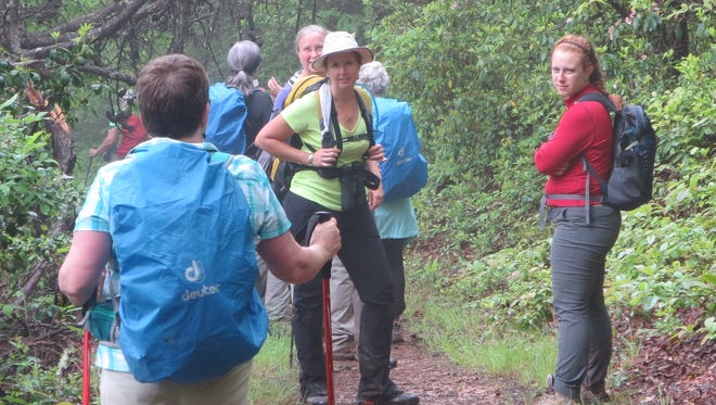 Great Smoky Mountains Association offers women an exclusive opportunity to explore the park's backcountry with other women.
