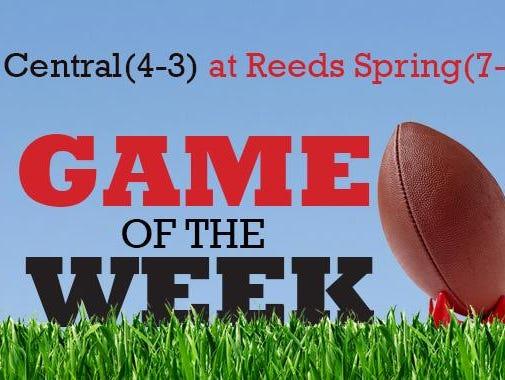 News-Leader Game of the Week: Central (4-3) at Reeds Spring (7-0)