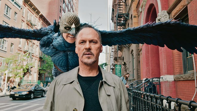 "Michael Keaton plays a former action star who wants to do ""legitimate"" theater in ""Birdman."""