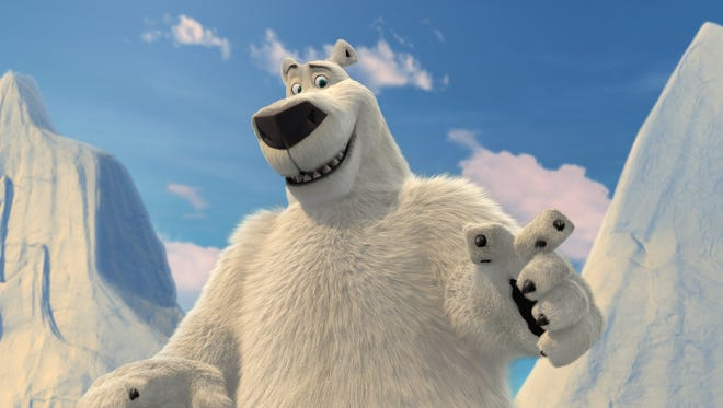 "Rob Schneider voices the title character in ""Norm of the North."""