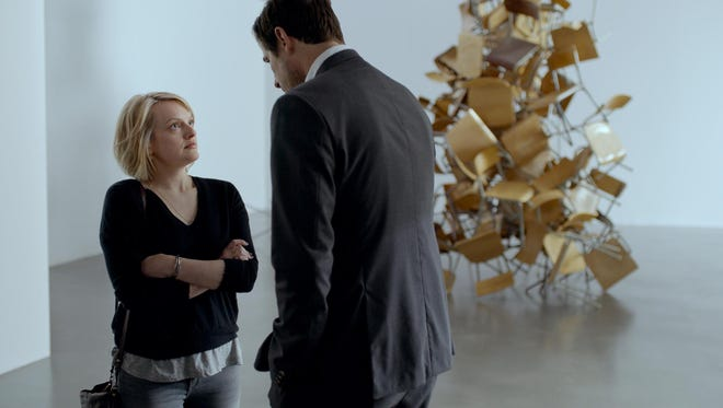 Elisabeth Moss and Claes Bang star in Palme d'Or winner 'The Square.'
