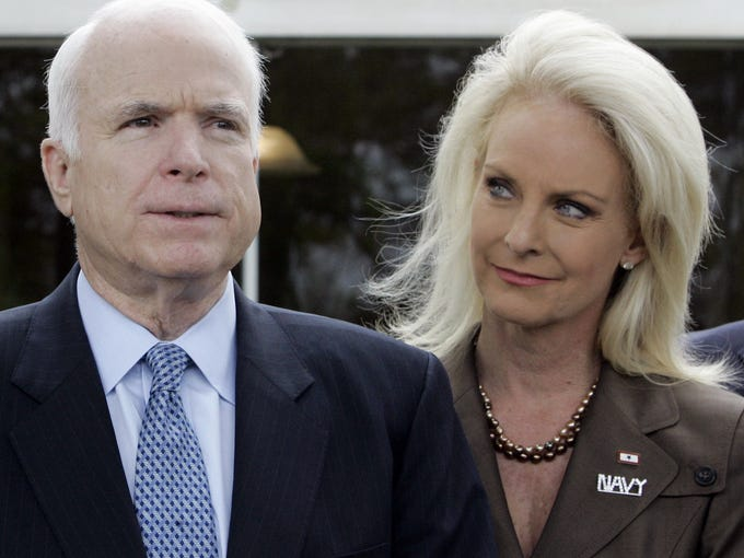 Republican presidential candidate, Sen. John McCain,