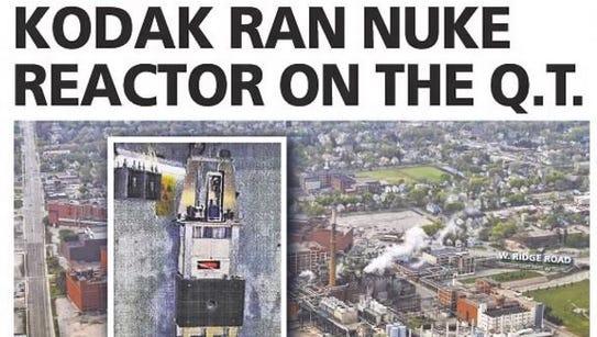 Kodak research reactor story, May 12, 2012.