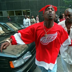 Tupac Shakur, killed in 1996 drive-by shooting, remains one of the most influential hip-hop artists.