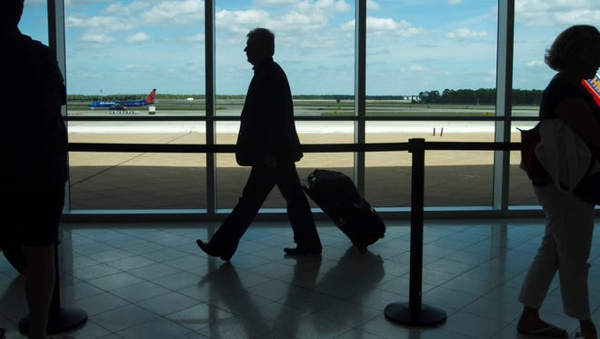 Southwest Florida International Airport was crowded with holiday travelers on Tuesday.