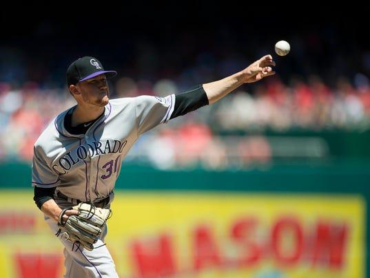 MLB: Game One-Colorado Rockies at Washington Nationals