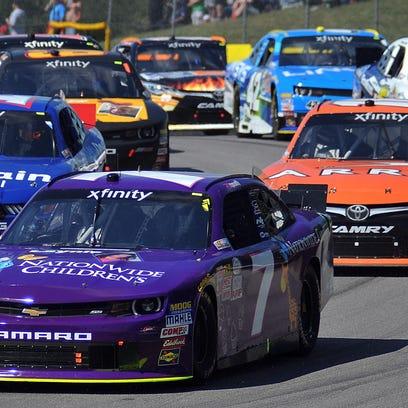 NASCAR race at Mid-Ohio