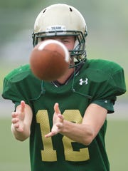 Brett Chaperon will take over the reins at quarterback for the Highlanders this season.