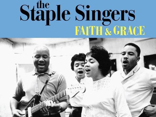 "The Staples Singers will be the subject of a four-CD career retrospective, ""Faith & Grace,"" on Nov. 13, 10 days after Mavis Staples, pictured in the foreground, will perform at Morristown's Mayo Center."
