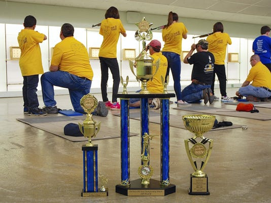 The Palmyra BB Gun Team is aiming for victory beyond their 2015 PA State Championship trophies. They will compete at nationals in Arkansas over July 4th weekend.