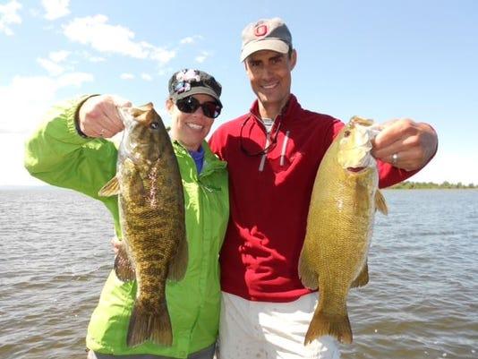 Fishing couple