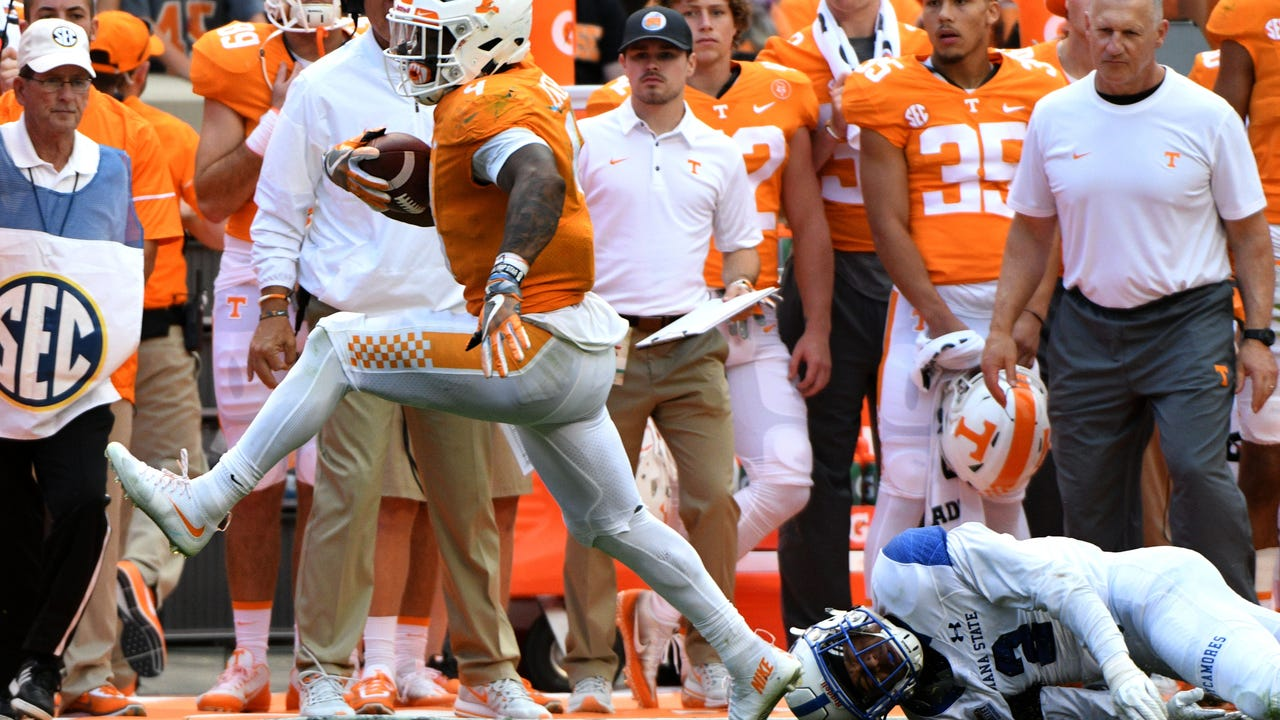 Tennessee Vols football report