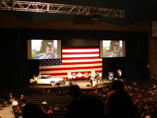 A celebration of life honored Doug Carney at the Redding