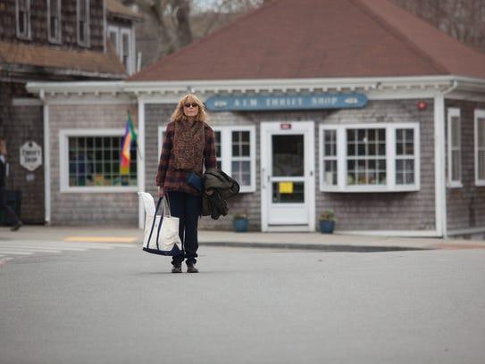 """Joan (Karen Allen) explores Cape Cod in """"Year by the"""